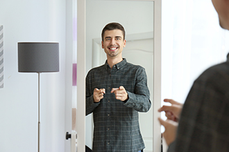 Positive self-talk improves health and performance