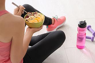Maintenir votre régime alimentaire et faire de l'exercice pendant les vacances