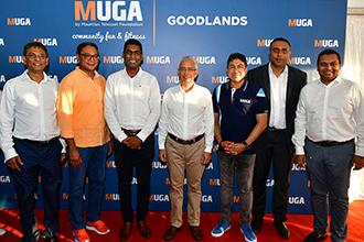 Lancement d'un cinquième MUGA, à Goodlands